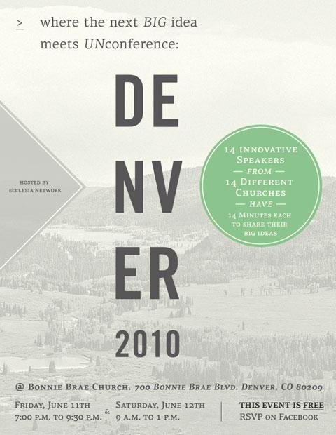 Denver 2010 Unconference