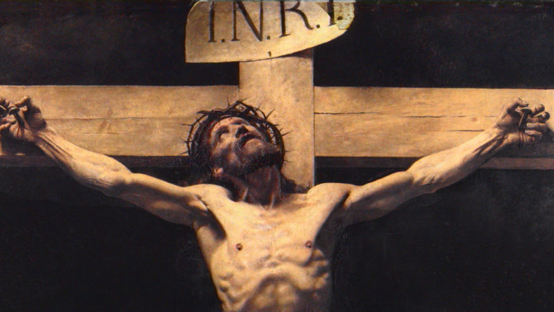 Jesus Cries Out in Pain